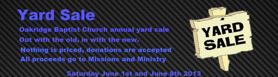 Yardsale-2013 Slider